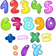 Royalty-Free Stock Vector Image: Bubble numbers