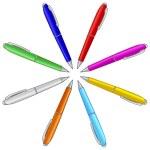 Pens — Stock Vector