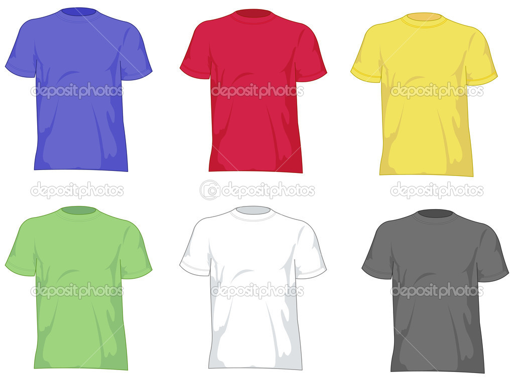 T shirts set — Stock Vector #3497243