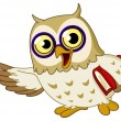Royalty-Free Stock Vectorielle: Owl