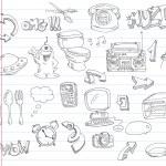 Doodle set 2 — Stock Vector #3643374