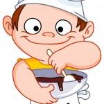 Chef boy — Stock Vector #3718177