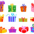 Gifts — Stock Vector #3831362