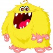 Hairy monster - Stock Vector