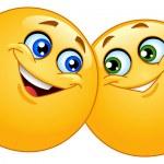 ������, ������: Hugging emoticons