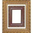 Stock Photo: Old frame