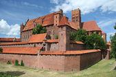 Malbork castle, Polonya — Stok fotoğraf