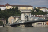 Chain Bridge of Budapest — ストック写真