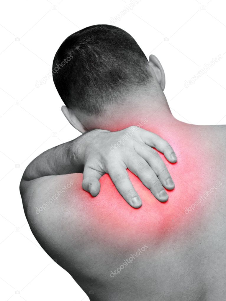 Back pain — Foto Stock #2885529