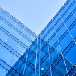 Perspective glass wall of skyscraper — Stock Photo #3000772
