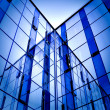 Perspective glass wall of skyscraper — Stock Photo #3000929