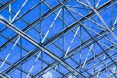 Perspektif cam duvar gökdelenin — Stok fotoğraf