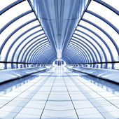 Mur de verre du point de vue des gratte-ciel — Photo