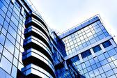Ritaglia diagonale astratto blu della moderna — Foto Stock