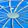 Stock Photo: Limpid round ceiling