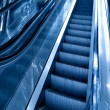 Diminishing stairway of blue empty business esca — ストック写真