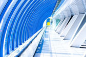 Modern futuristisk hall — Stockfoto