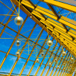 Yellow abstract ceiling in office — Stock Photo #3248901