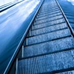 Moving escalator — Stock Photo #3249635
