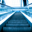 Moving escalator — Stock Photo