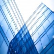 Abstract glass side of business building — Stock Photo