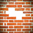 Closeup of brick wall — Stock Photo