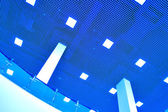 Modern ceiling in office center — Stock Photo