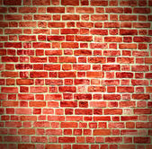 Closeup of brick wall — Foto Stock