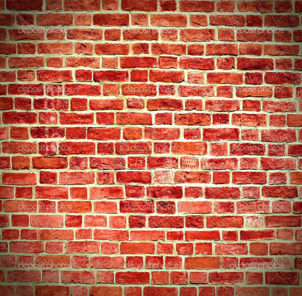 Closeup of brick wall — Stock Photo #3342664
