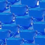 Blue teacup. — Stock Photo
