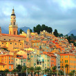 Royalty-Free Stock Photo: Menton village