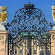 Stock Photo: Schonbrunn Palace gates in Vienna