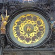 Prague's Famous Astronomical Clock — 图库照片