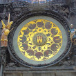 Prague's Famous Astronomical Clock — Stok fotoğraf