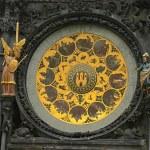 Prag ünlü Astronomik saati — Stok fotoğraf