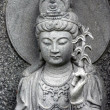 Royalty-Free Stock Photo: Zen statue