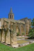 Castillo en avignon, francia — Foto de Stock