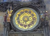 Prague's Famous Astronomical Clock — Stock Photo