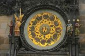 Prague Famous Astronomical Clock — Foto Stock