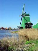 Dutch windmill — Stock Photo