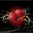 Illustration for valentine day - Foto Stock