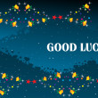 Good luck background — Imagen vectorial