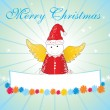 Happy marry christmas background — Image vectorielle