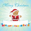 Happy marry christmas background — Stock Vector #2708929