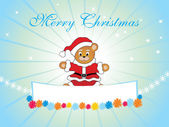 Happy marry christmas background — Stock Vector