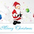 Happy marry christmas background — Stock Vector #2734603