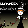 Vector wallpaper for halloween day -  