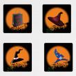 Halloween icons set_13 — Stock Vector