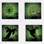 Halloween icons set_14 — Stock Vector