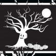 Vector de stock : Halloween bakground wallpaper